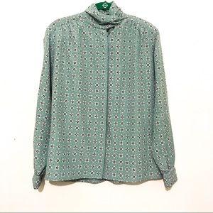 Jones Wear | Abstract Print Blouse 6P